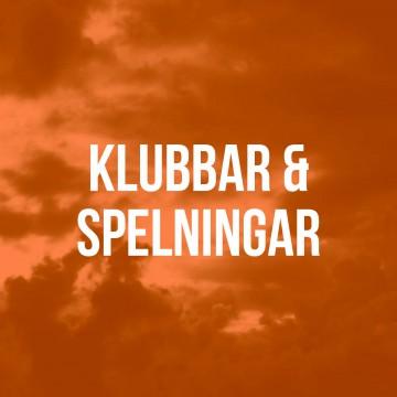 KLUBBAR - SPELNINGAR HS